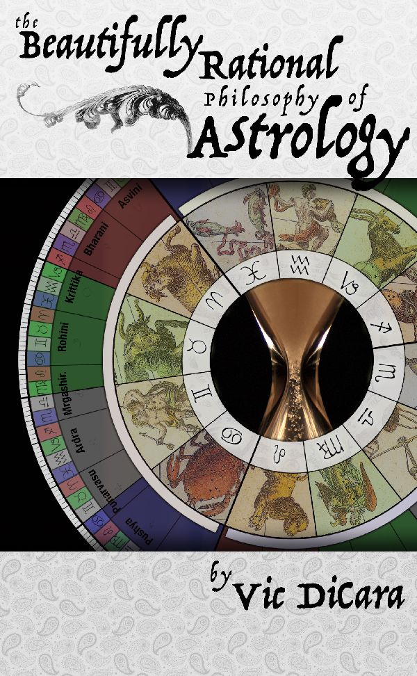Book Cover for The Beautifully Rational Philosophy of Astrology